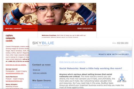 custom html newsletters